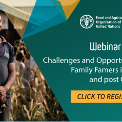 Webinar: Challenges and Opportunities for Smallholder/ Family Farmers in Africa during and post COVID-19